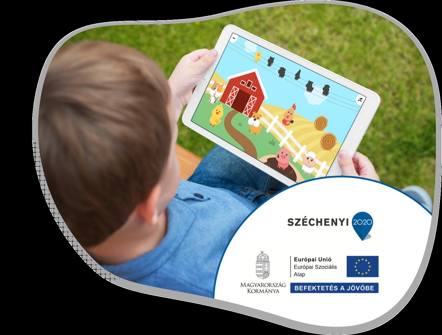 Széchenyi 2020 pályázat, Európai Szociális Alap, Játék a tanyán app
