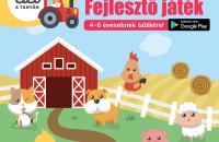 Játék a tanyán – szórakoztató fejlesztő játék 2-5 éveseknek