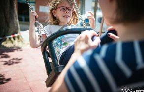 Ünnepélyes játszótér átadás a pécsi Gyermekklinikán 2020.06.24