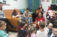 Zeneterápiás fejlesztő foglalkozás a Szívbeteg Gyermekekért Alapítványnál