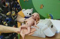 Gyakorló babát vásároltunk